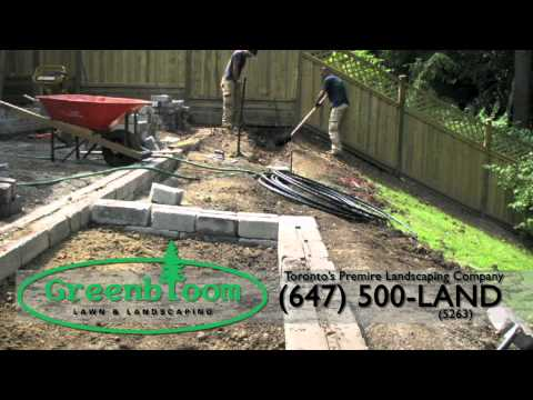 Landscaping project – Start to finish