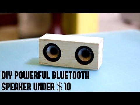 Diy Powerful Bluetooth Speaker under $ 10