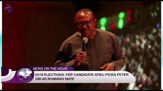 2019 Elections: PDP Candidate Atiku Picks Peter Obi As Running Mate