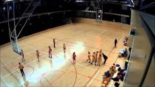 Basketbal Zwolle Landstede U16 13- 3- 2016 tegen Landsmeer