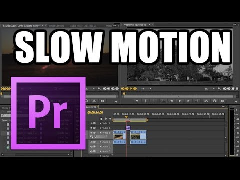 Adobe Premiere Pro - #15: Efecto Slow Motion
