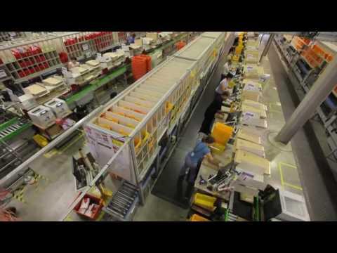 The Amazon Co Uk Fufilment Centre Youtube
