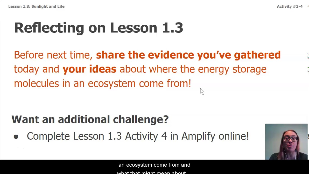 small resolution of Science Grade 7: Matter and Energy in Ecosystems - Chapter 1