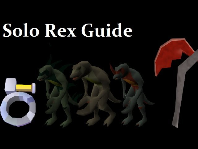 Oldschool Runescape - Solo Dagannoth Rex Guide | How to Camp DKS