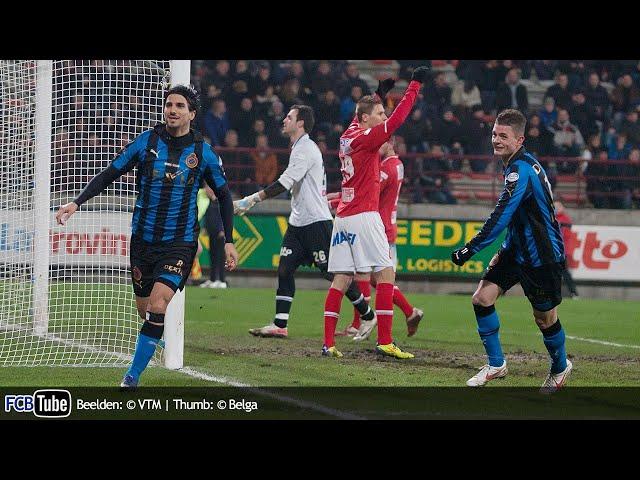 2011-2012 - Jupiler Pro League - 23. RAEC Bergen - Club Brugge 0-2