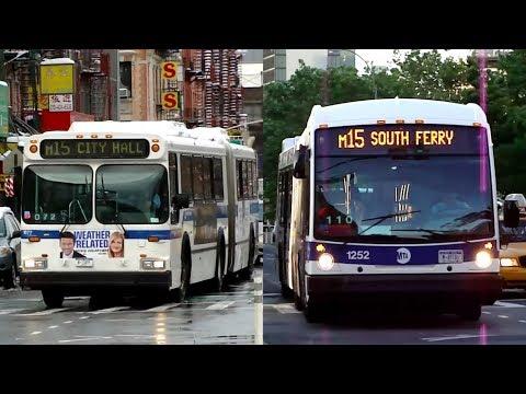 MTA New York City Bus : Allen Street & Grand Street (Part I) [ M15 Local & Limited ]