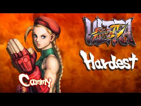 Ultra Street Fighter IV - Cammy Arcade Mode (HARDEST)