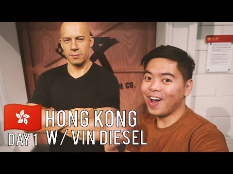 I Met Vin Diesel In Hong Kong (Madame Tussauds and Victoria Peak) - Day 1