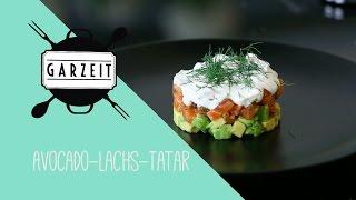 GARZEIT - Avocado-Lachs-Tatar (Lachs beizen)