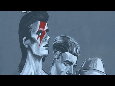 "Sarajevo honours late David Bowie with ""the biggest ever"" mural"