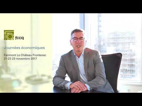 Invitation au Journées Économiques de Me Jean-François Gagnon
