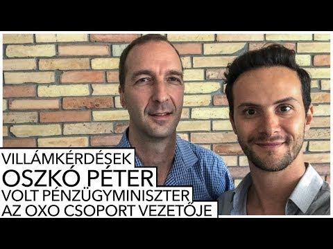 OSZKÓ PÉTER - VOLT PÉNZÜGYMINISZTER, OXO CSOPORT VEZETŐJE ✖️Villámkérdések⚡️✖️SZÁNTÓ PÉTER
