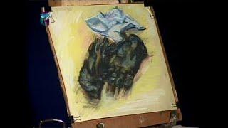 Уроки рисования (№ 70) пастелью. Отрабатываем технику пастели, изображая предметы быта
