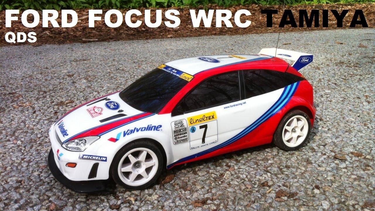 Tamiya Qds Ford Focus Wrc 2wd 1 10 Qd Touring Car Rc Running Video