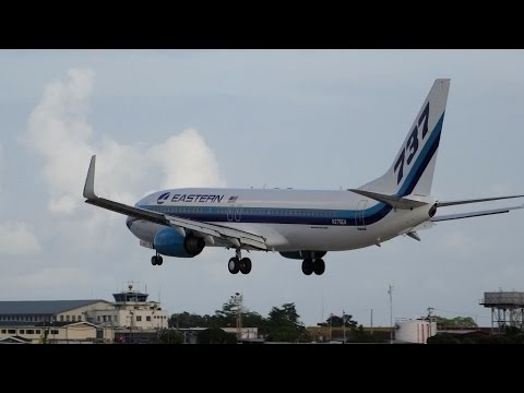 Hangar Spotting V: 25 Landings at Piarco