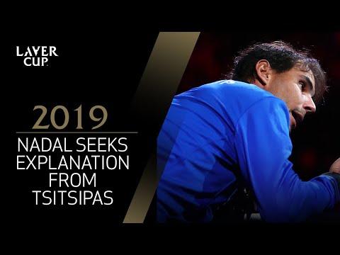 Nadal seeks signal explanation from Tsitsipas