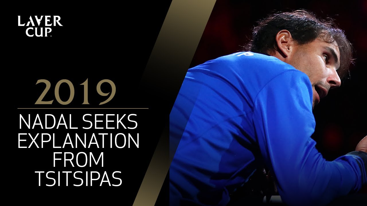 Image result for tsitsipas nadal laver cup