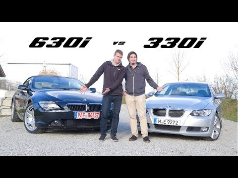 BMW 630i (E64) vs 330i (E92) Vergleich: 3.0L 6-Zylinder unter 20.000Euro | Fahr doch