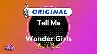 [KPOP MR 노래방] Tell Me - 원더걸스 (Origin Ver.)ㆍTell Me - Wonder …