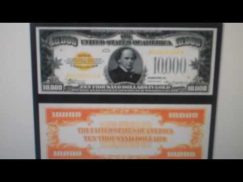 Gold Certificates $10000