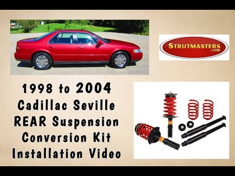 1998 2004 Cadillac Seville Rear Electronic Air Suspension