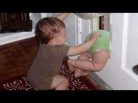 Thumbnail: TRY NOT TO LAUGH at SUPER FUNNY KIDS - Funny KID & BABY compilation