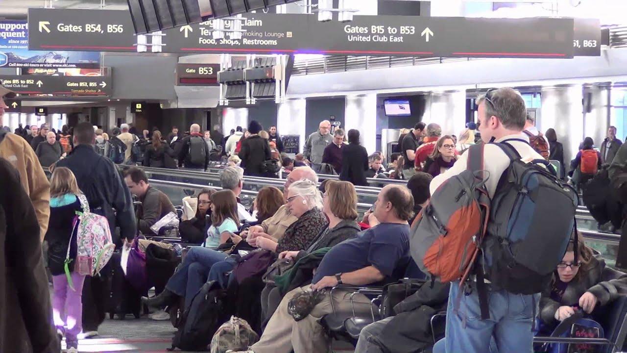 A Tour Of Denver International Airports Main Terminal And