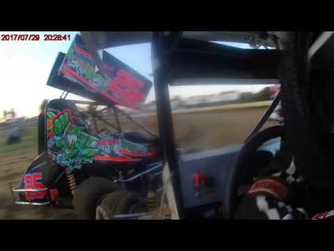 7/29/17 Sweet Springs Motorsports Complex Jr Sprint feature