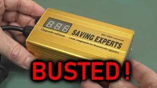 EEVblog #1191 - Digital Energy Savers BUSTED!