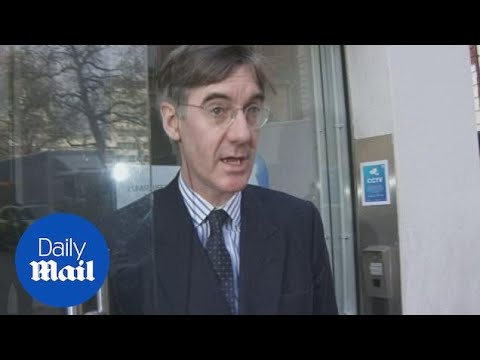 Jacob Rees-Mogg says he is thinking of backing May's Brexit deal