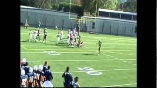 Austin McBroom 12th grade football highlights