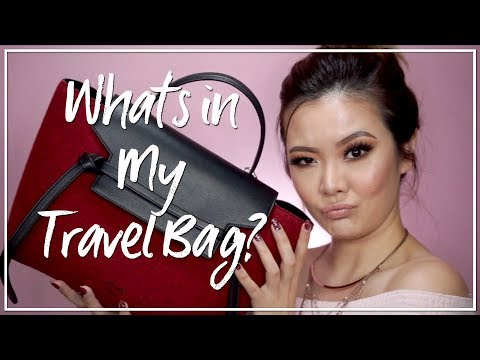 What's in My Bag (Travel Edition): SPAIN! ⎮ Emily Quak