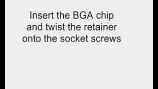 IC_BGA SOCKET with solderball adapter