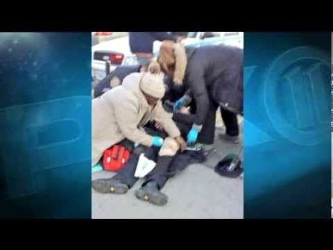 Good Samaritans Rush To Help Wounded Cop