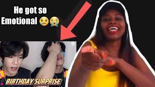 Reacting to || Stell Birthday Surprise |Reaction Video Prank😭 || Zambian Youtuber 🇿🇲