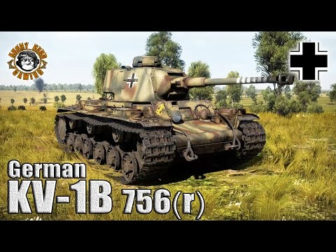 War Thunder: The KV-1B 756(r), German Premium Tier-3, Heavy Tank