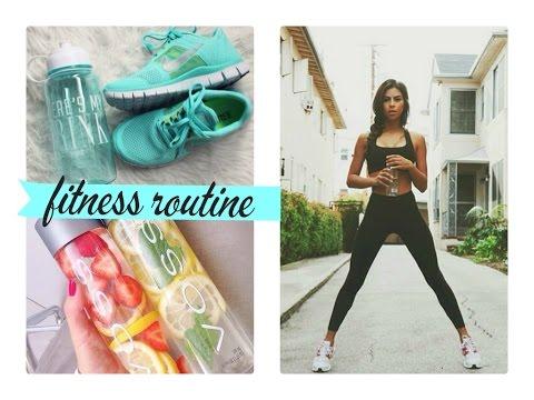 My Summer fitness routine♥/Má letní fitness rutina