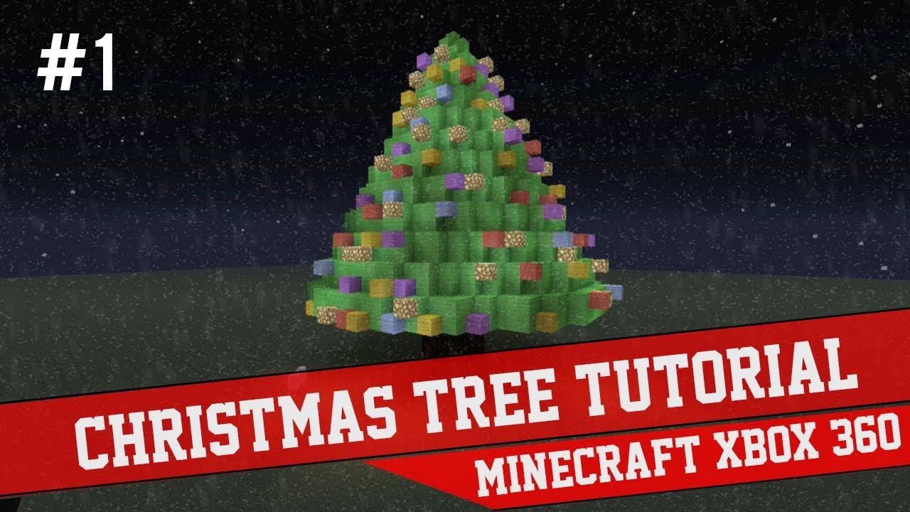 Christmas Tree Tutorial Minecraft Xbox 360 1 Youtube