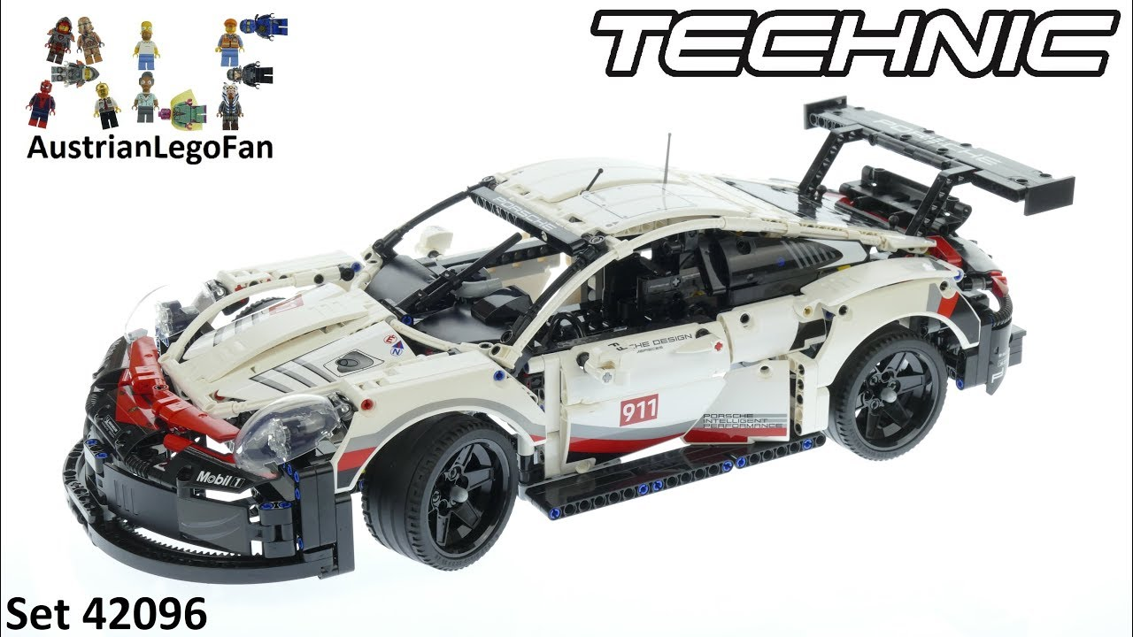 lego technic 42096 porsche 911 rsr lego 42096 speed. Black Bedroom Furniture Sets. Home Design Ideas