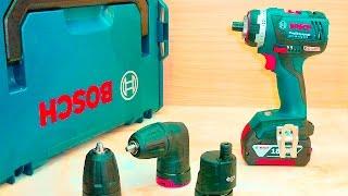 Аккумуляторная дрель шуруповёрт Bosch GSR 18 V EC FC2(, 2015-09-04T23:00:04.000Z)