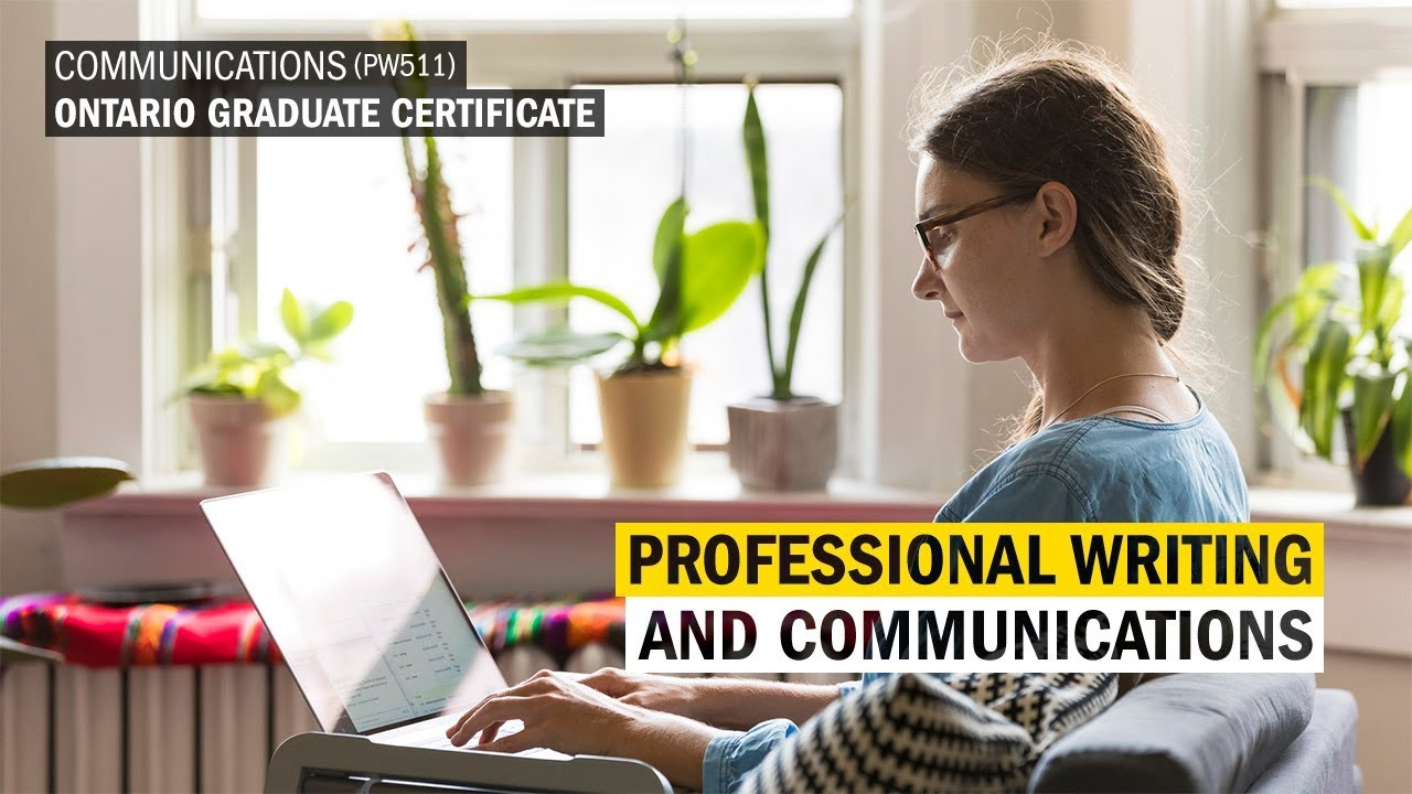 Professional writing and communication ontario graduate professional writing and communication ontario graduate certificate humber college 1betcityfo Images