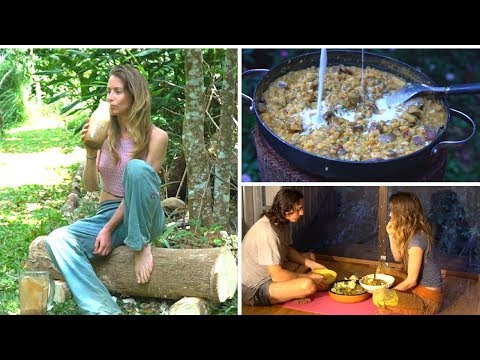 WHAT I ATE TODAY Offgrid | Goodbye Raw Till 4...