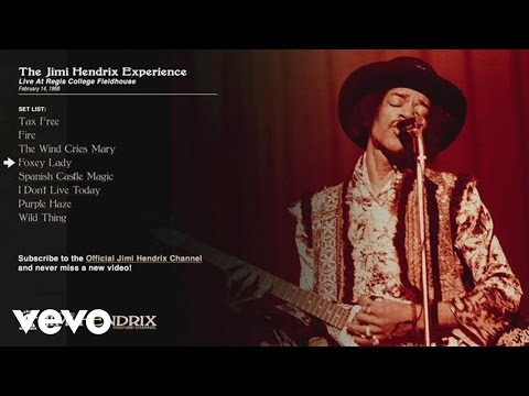 Jimi Hendrix, The Jimi Hendrix Experience - Foxey Lady - Regis College 1968 (Audio) Thumbnail image