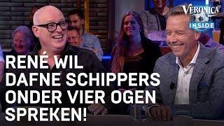René wil Dafne Schippers onder vier ogen spreken | VERONICA INSIDE