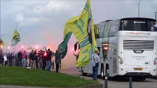 uitzwaaien ADO Den Haag naar Heracles
