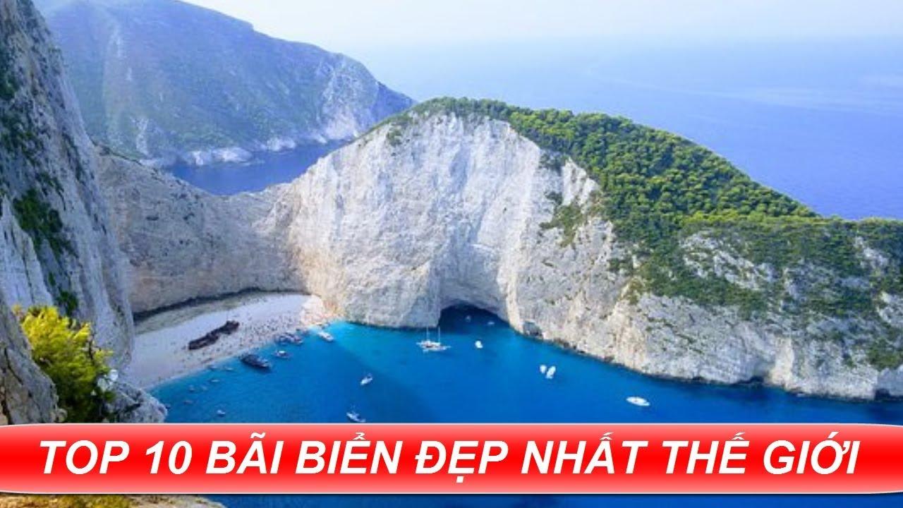 TOP 10 Bãi Biển Đẹp NHẤT Hành Tinh | Top Nhất