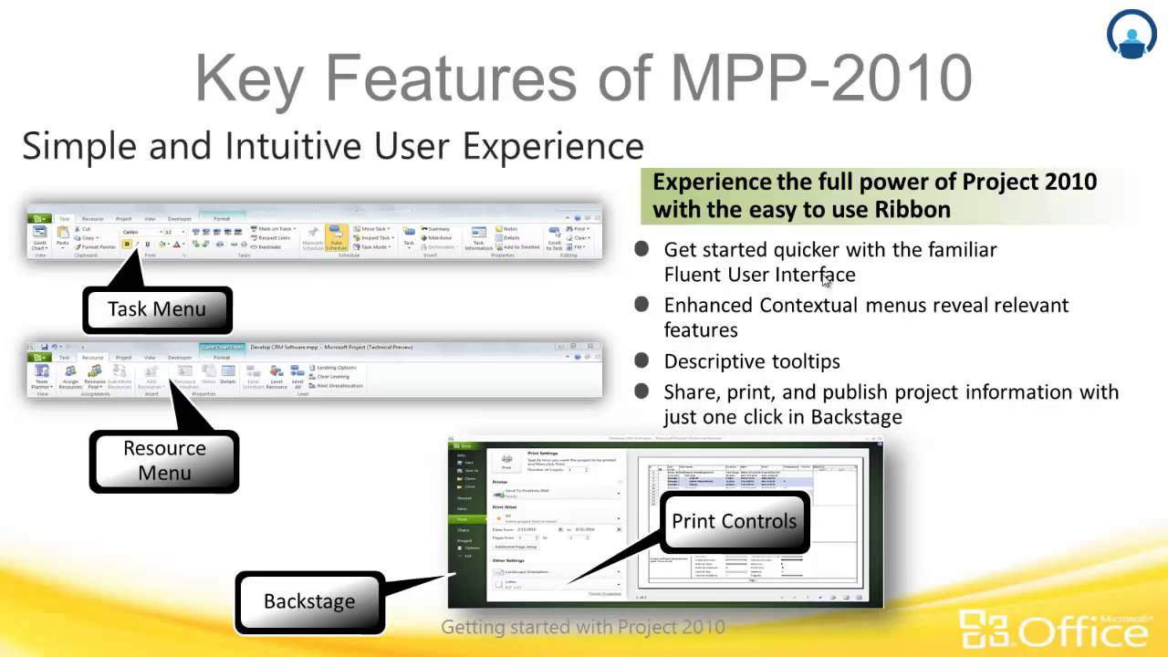 ms project key features