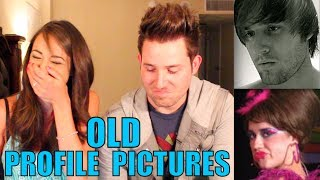 REACTING TO OLD PROFILE PICTURES! thumbnail