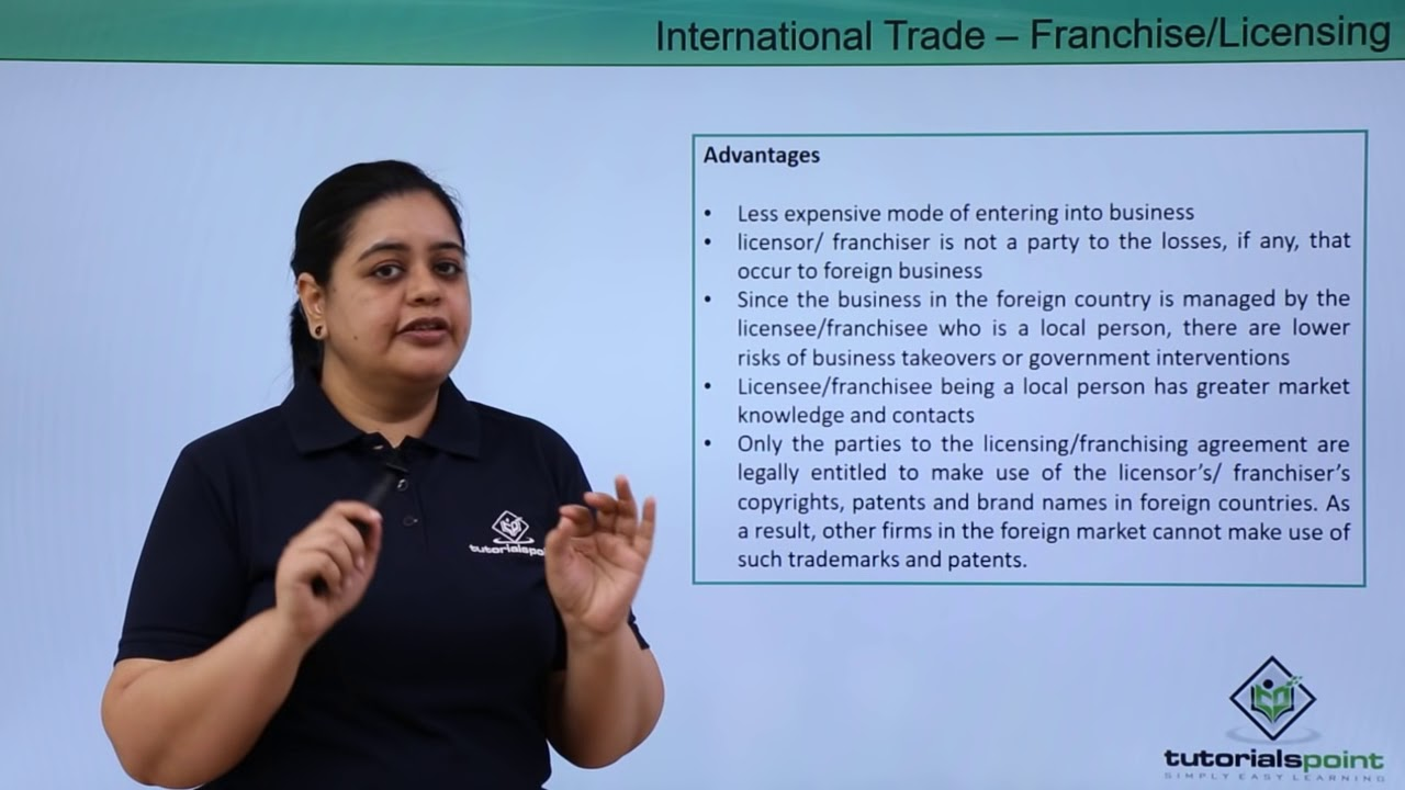 advantages of licensing Advantages and limitations when trading ipr in 2009 and 2010 the danish patent- and trademark office asked danish patent active businesses a number of questions on the advantages and limitations they experience when selling, buying and licensing patents.