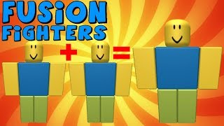 ROBLOX- Fusion Fighters Gameplay!